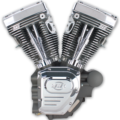 Twin-Cam-143 HD Stone Gray Replacement Engine